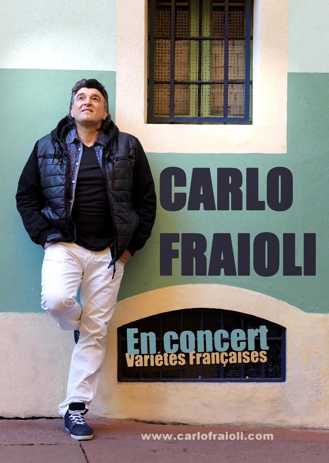 affiche Carlo Fraioli au coin dela rue