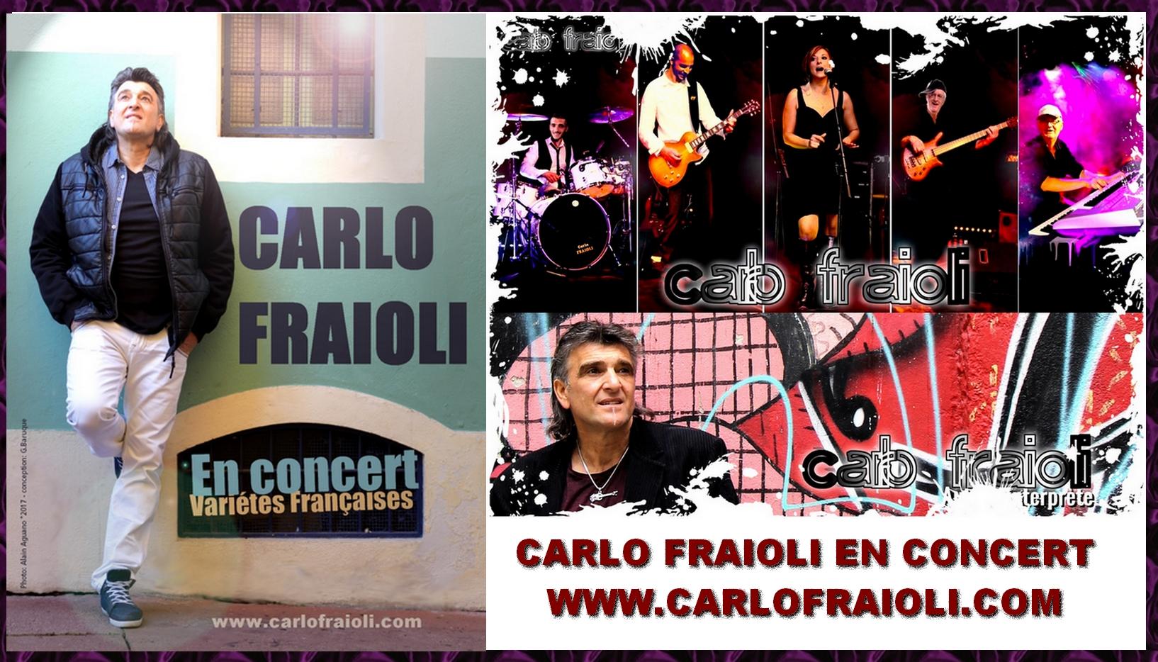 CARLO FRAIOLI EN CONCERT FRANCE