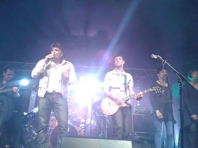 CARLO FRAIOLI et ses musiciens au Fest'U St-Etiennne Mai 2014