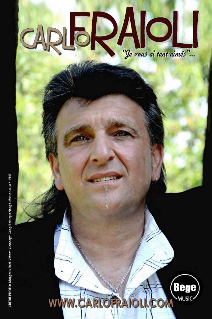 CARLO FRAIOLI- chanteur français