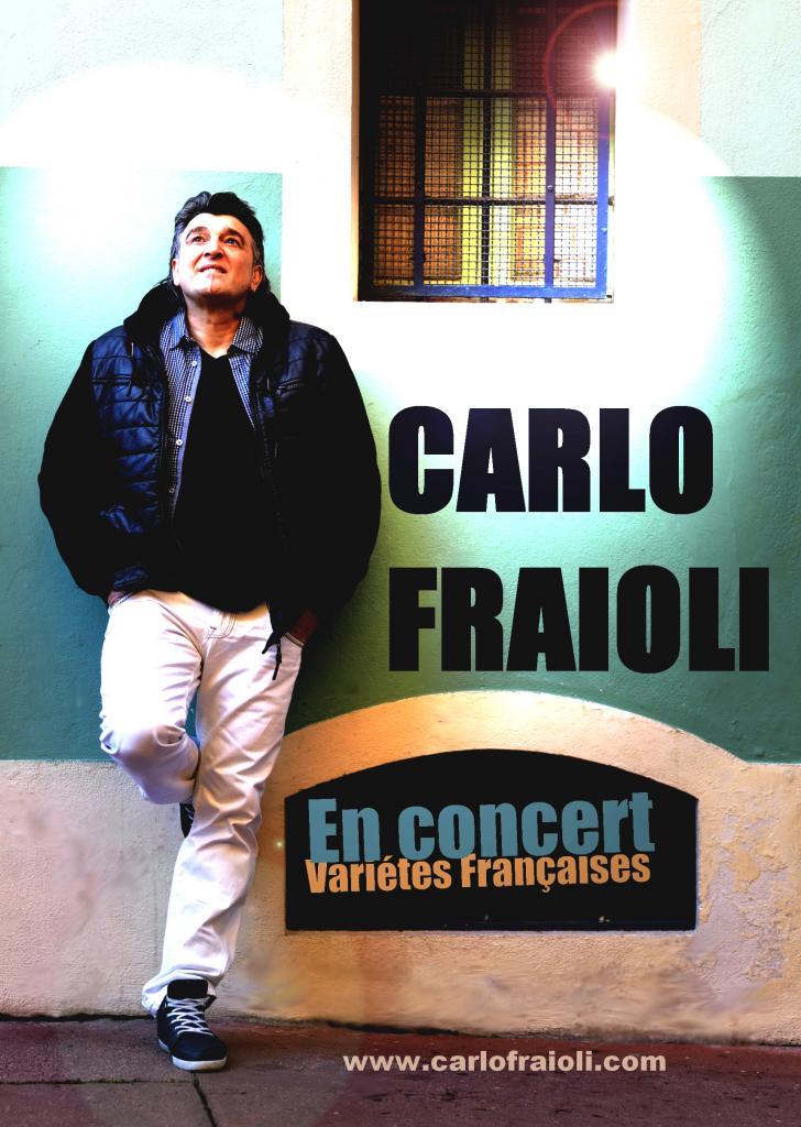 Affiche Carlo Fraioli  EN CONCERT