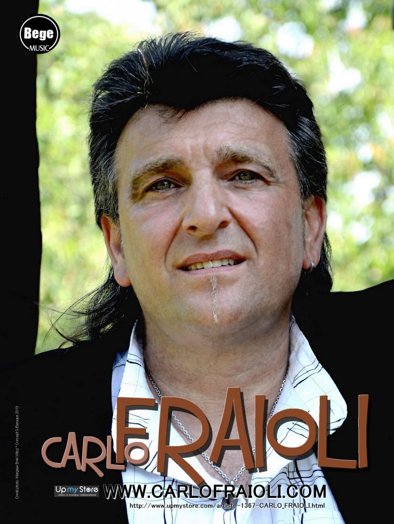 CARLO FRAIOLI Affiche Concert