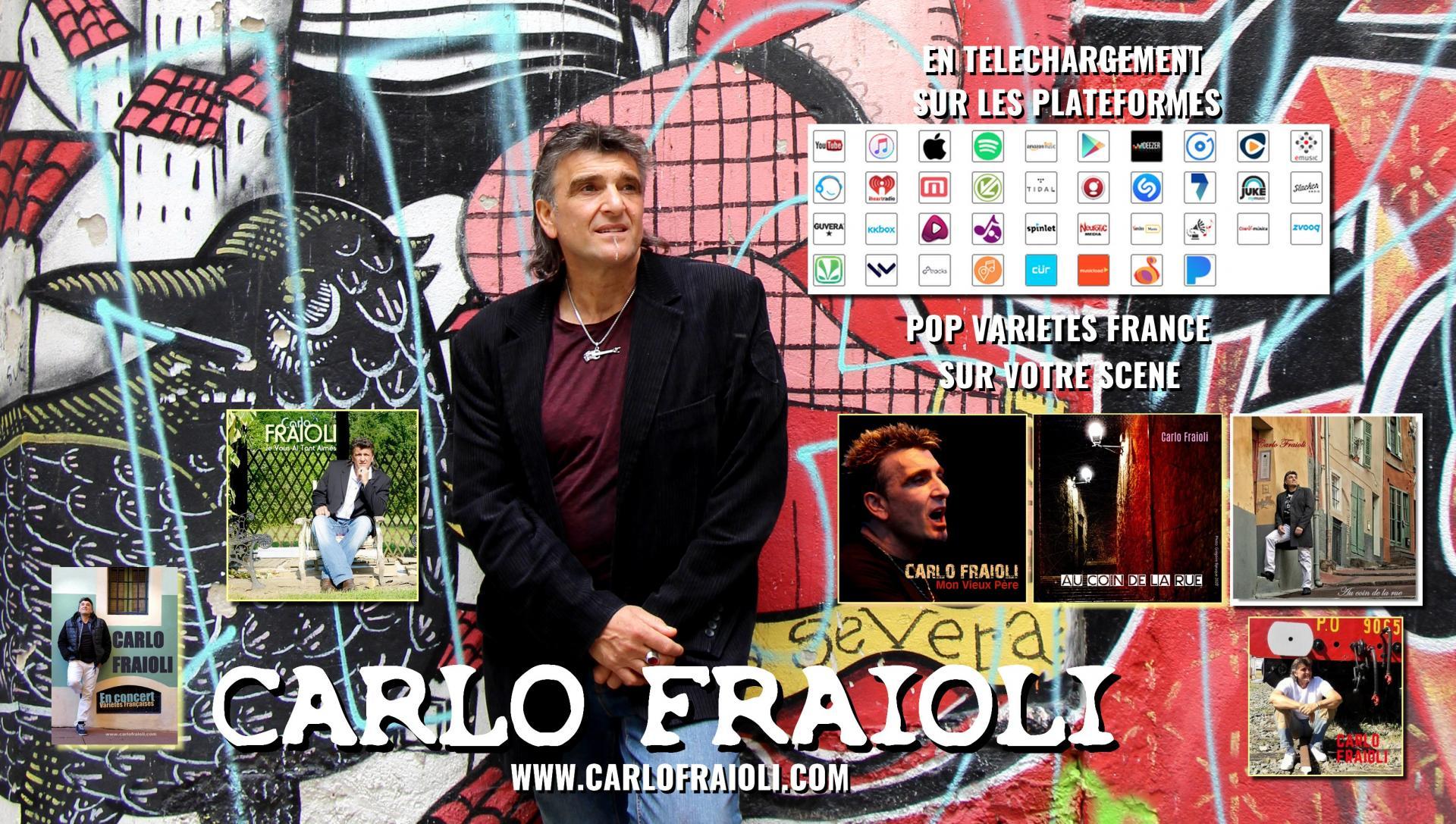 Carlo Fraioli Auteur-Interprète POP FR