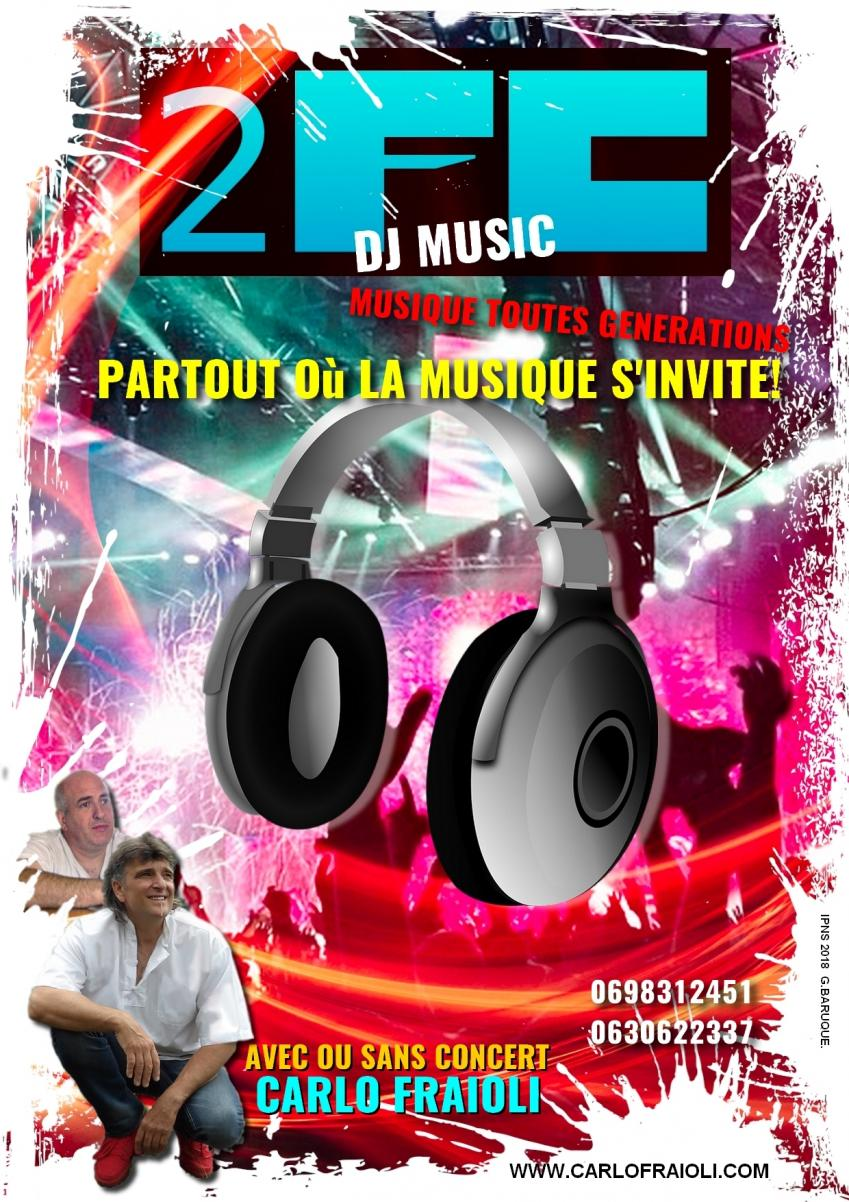 DJ 2FC ANIMATION MUSICALE