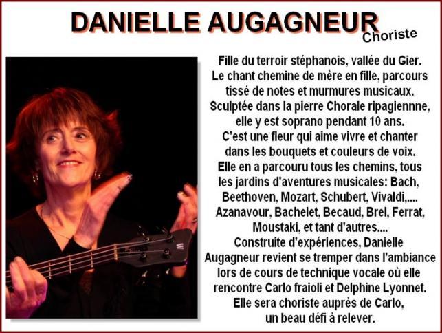 Danielle Aubagneur Choriste