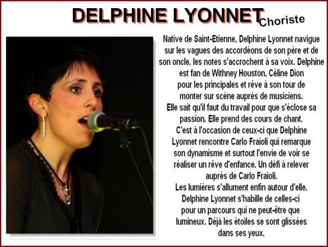 Delphine Lyonnet Choriste