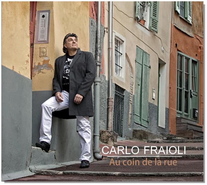 Pochette album carlo fraioli 2017 au coin de la rue